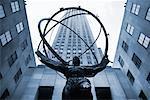 Atlas Statue at Rockefeller Center, New York, New York, USA