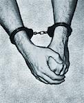 Man Wearing Handcuffs