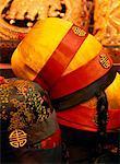 Stack of Hats Chinatown, San Francisco California, USA