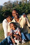 Portrait of Parents with Son
