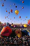 Hot Air Balloon Fiesta Albuquerque, New Mexico USA