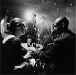 Paar im Jazzclub