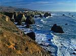 Côte rocheuse de la Californie