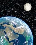 La lune au Moyen-Orient