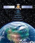 Satellite Transmission over North America
