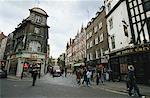 Scène de rue Soho Londres, Angleterre