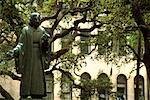Statue in a Park Savannah, Georgia, USA