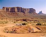 Camping à Sentinel Mesa, Monument Valley, Arizona, USA