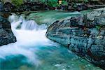 Baring Creek, Glacier National Park, Montana, USA