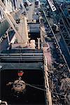 Chargement de ferrailles sur navire, Duluth, Minnesota, USA