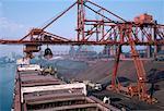 Ship Unloading, Hamilton, Ontario, Canada