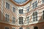 Entrance to Albertina Museum Vienna, Austria