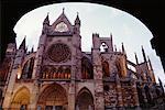 Cathédrale de Leon, Espagne