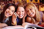 Girls Taking Study Break
