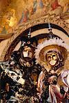 Menschen Sie tragen Kostüme Venedig, Italien