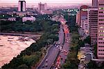 Overview of City Roxas Boulevard Manila Bay, Philippines