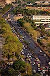 Overview of Urban Highway Roxas Boulevard Manila, Philippines