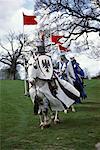 Ritter Chilham Schloß Kent, England