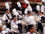 Marching Band St. Patrick's Day Parade New York City, USA
