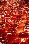 Busy Traffic Lakeshore Boulevard Toronto, Ontario, Canada