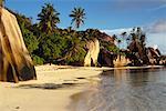 Point Source d'Argent La Digue, Seychelles Africa