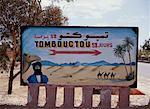 Humorous Road Sign Zagora, Morocco