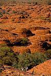 Canyon Watarrka National Park de King dans le territoire du Nord Australie