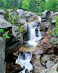 Screw Auger Falls Grafton Notch State Park Maine, USA
