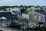 Waterfront Homes Nantucket Harbour Nantucket, Massachusetts USA