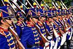 Military Procession Independencia Square Quito, Ecuador