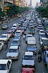 Traffic Jam Sukhumvit Road Bangkok, Thaïlande