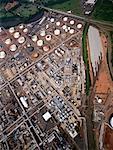 Stockage industriel usine Bayonne, New Jersey, Etats-Unis