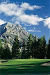 Golf Course Banff, Canada
