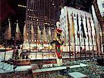 Rockefeller Center à New York City de Noël