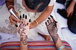 Henna Bodypainting