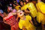 Dancers at Chingay Parade Singapore