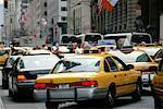 Traffic on Fifth Avenue New York City, New York USA
