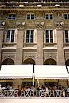 Outdoor Cafe at Palais Royal Paris, France