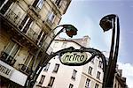 Metro Sign Paris, France