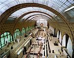 Interior of Musee d'Orsay Paris, France