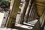 Walkway at The Palais Royal Paris, France