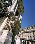 Statue at the Paris Opera House Paris, France