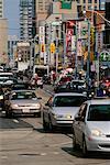 Cars at Intersection Toronto Ontario Canada