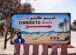 Road Sign to Timbuktu