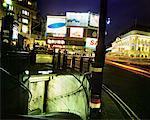 Picadilly Circus et entrée de métro