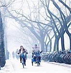 Vélo au travail, Beijing, Chine