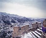 Garde la Chine grande muraille de Chine
