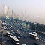 Traffic Shanghai, China