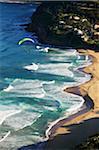 Saut en parachute dans le Parc National Royal Stanwell Tops Lookout Sydney, Australie