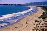 Crowded Beach Bodega Bay, California USA